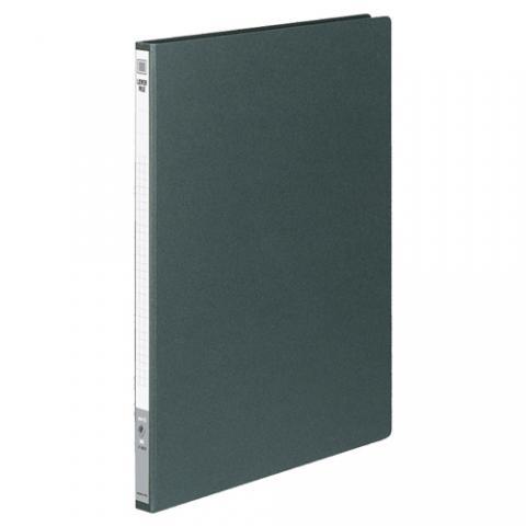 レバーファイル<MZ> 色厚板紙 A4タテ 100枚収容 ダークグレー