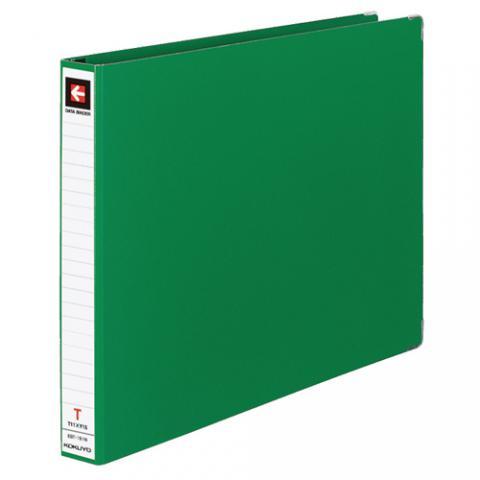 データバインダーT型 バースト用 T11×Y15 22穴 280枚収容 緑