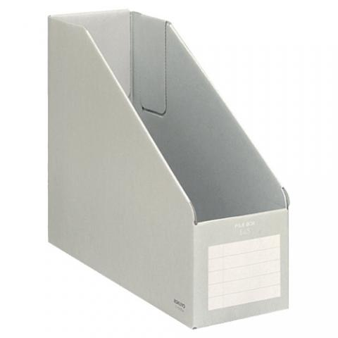ファイルボックスE&S A4フリー型 背幅102mm グレー