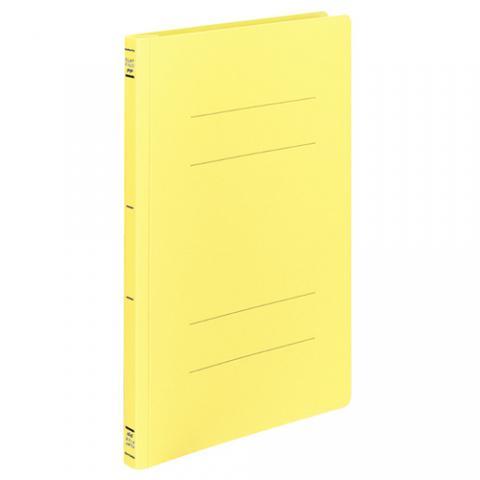 フラットファイル<PP> 発泡PP A4タテ 2穴 150枚収容 黄 10冊