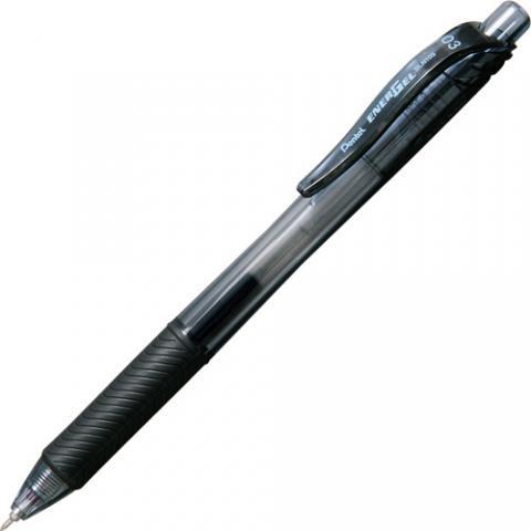 ゲルインキボールペン エナージェル・エックス 0.3mm 黒