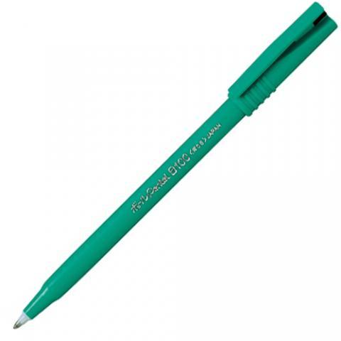 ゲルインキボールペン ボールペンてるB100 0.6mm 黒