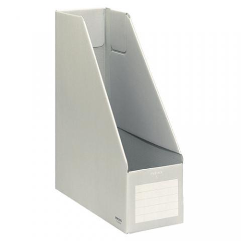 ファイルボックスS A4タテ 背幅102mm グレー