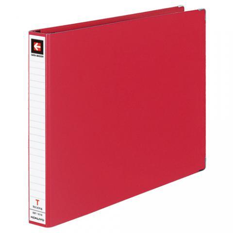 データバインダーT型 バースト用 T11×Y15 22穴 280枚収容 赤
