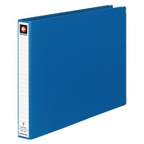 データバインダーT型 バースト用 T11×Y15 22穴 280枚収容 青