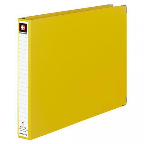 データバインダーT型 バースト用 T11×Y15 22穴 280枚収容 黄