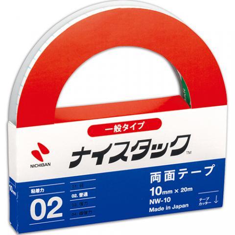 ナイスタック 再生紙両面テープ 大巻 10mm×20m