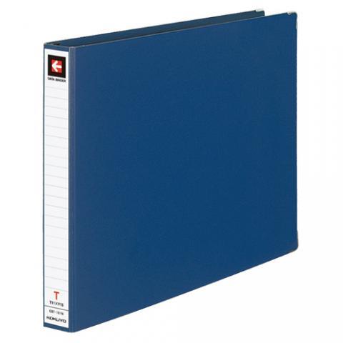 データバインダーT型 バースト用 T11×Y15 22穴 280枚収容 藍