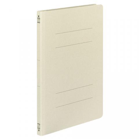 フラットファイル(ミックスペーパー) 色板紙 A4タテ 2穴 150枚収容 グレー 10冊入