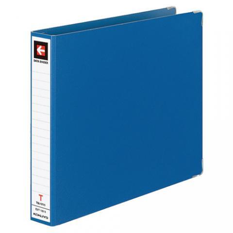データバインダーT型 バースト用 T9×Y11 18穴 280枚収容 青