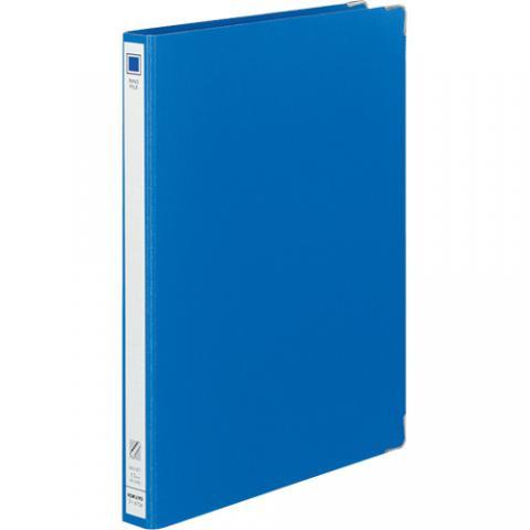 リングファイル 色厚板紙 A4タテ 30穴 リング内径17mm 青