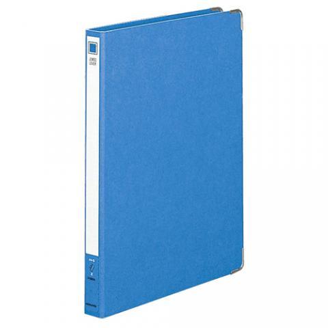 ジャンボレバーファイル(Z式) 色厚板紙 A4タテ 150枚収容 青