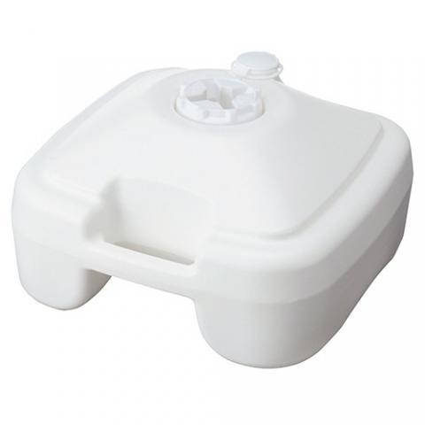 ノボリ用ポールスタンド 注水型 白