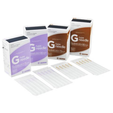 セイリン鍼Gタイプ ディスポ鍼25mmプラスチック鍼柄(セイリン)