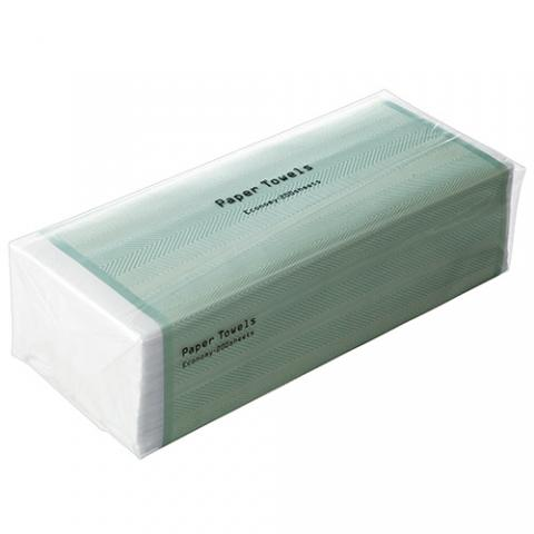 TANOSEE ペーパータオル ハードタイプ(エコノミー)200枚