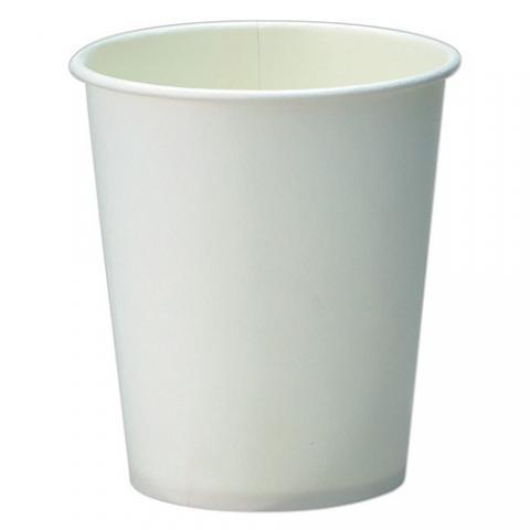 TANOSEEホワイト紙コップ<7オンス>_80個×5パック