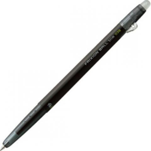 ゲルインキボールペン フリクションボールスリム038 0.38mm ブラック