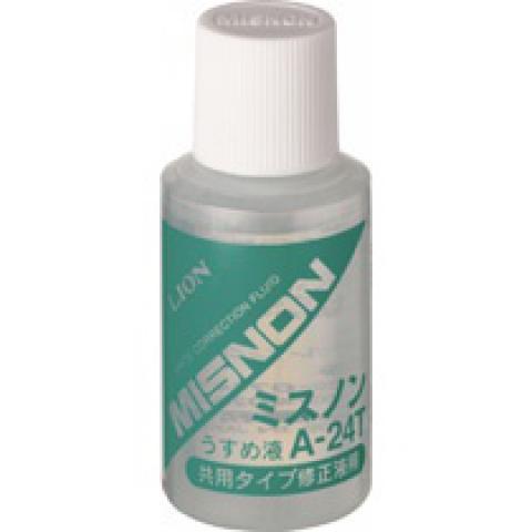 修正液 ミスノン共用タイプウスメ液 10個