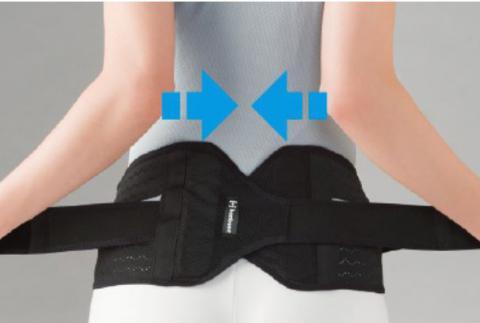 bonboneバッククロスミドル コルセットタイプ腰サポーター(bonbone)