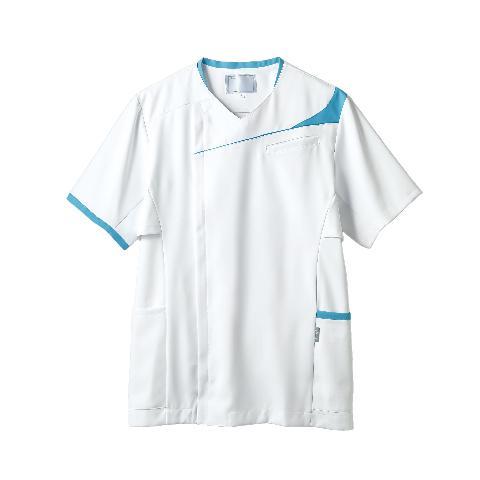 アシックス メンズスクラブ(半袖)カラー11色  (モンブラン)