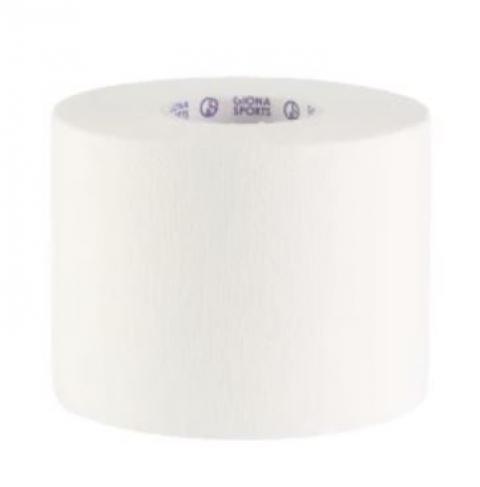 ホワイトテープ プラス テーピング テープ幅50mm×長さ12m(24個入/箱)(GIONA SPORTS)