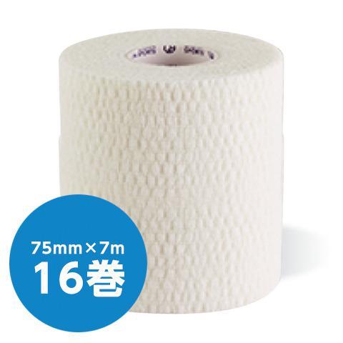 ソフト伸縮テープ テーピング テープ幅75mm×長さ7m(16個入/箱)(GIONA SPORTS)