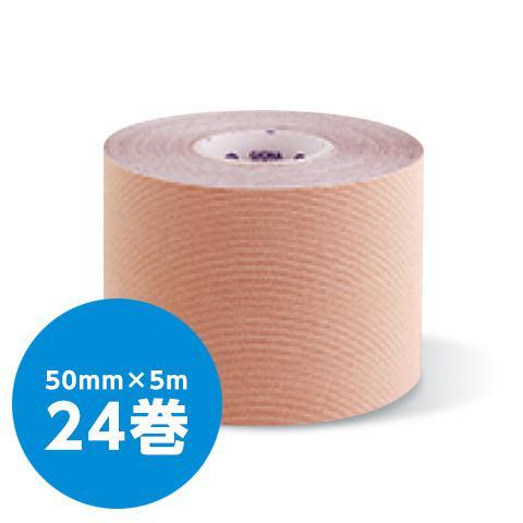 キネシオロジーテープ_伸縮テーピング テープ幅50mm×長さ5m(24個入/箱)(GIONA SPORTS)