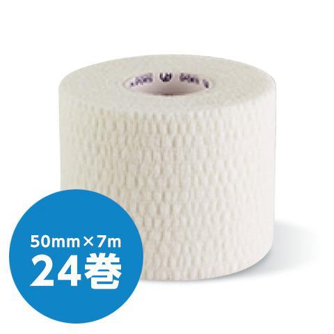 ソフト伸縮テープ テーピング テープ幅50mm×長さ7m(24個入/箱)(GIONA SPORTS)