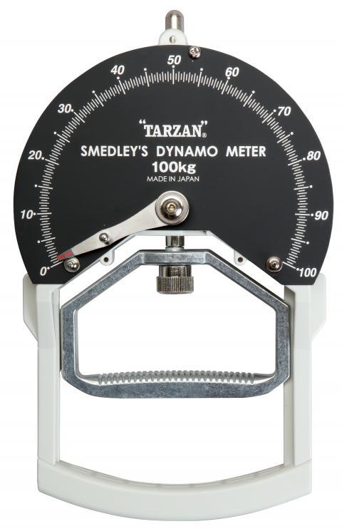スメドレ―型握力計Kタイプ100kg