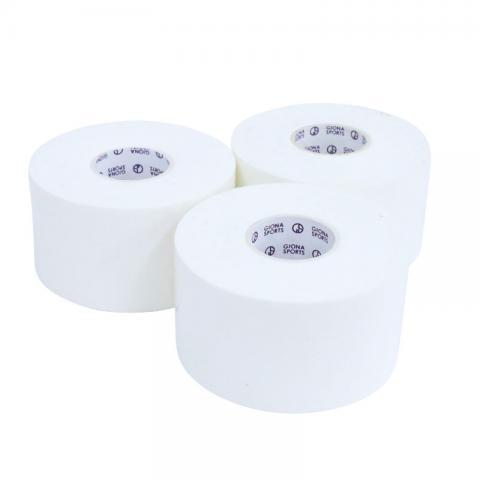 【お試し3ロール】ホワイトテーププラス38mm(GIONA SPORTS)