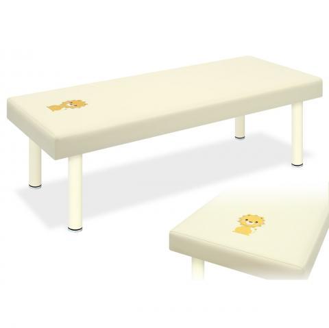 アニマル刺繍つき小児用DXベッド(高田ベッド)