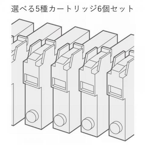選べる5種カートリッジ6個セット(ヘルスサーバー専用)