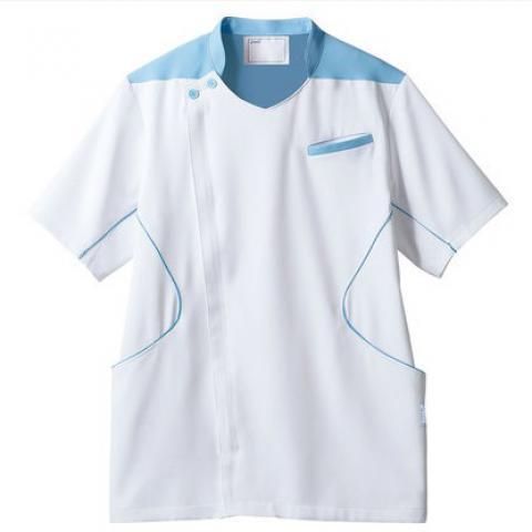 アシックス メンズジャケット(半袖) カラー3色 (モンブラン)
