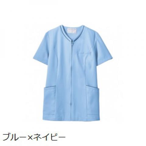 MONTBLANC レディスジップスクラブ(半袖) カラー4色 ソフトラチネ (モンブラン)