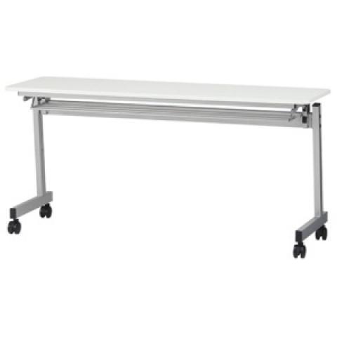スタックテーブル W1500×D450mm ホワイト